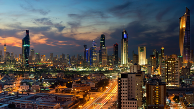 Kuwait sky line
